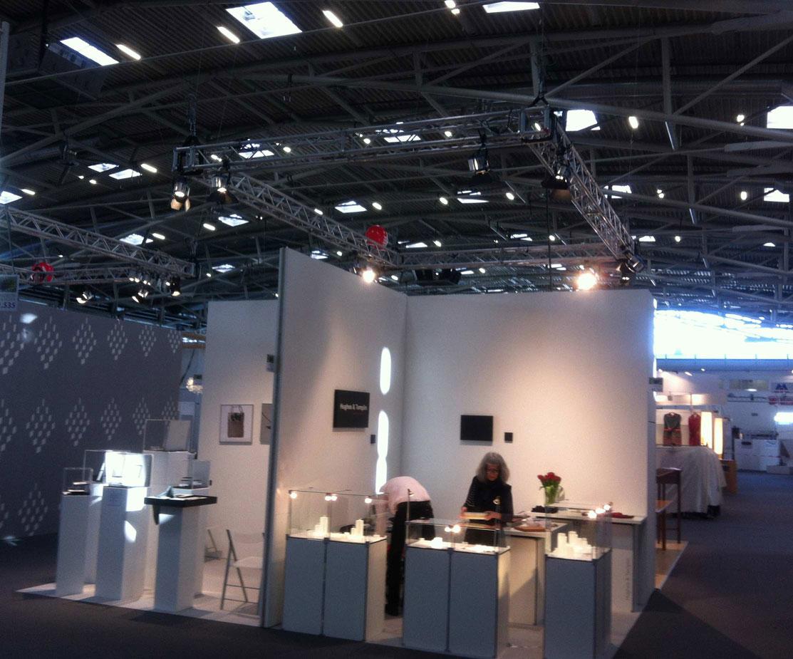 Bayrischer Kunstgewerbeverein Messeinstallation Festinstallation Monitore