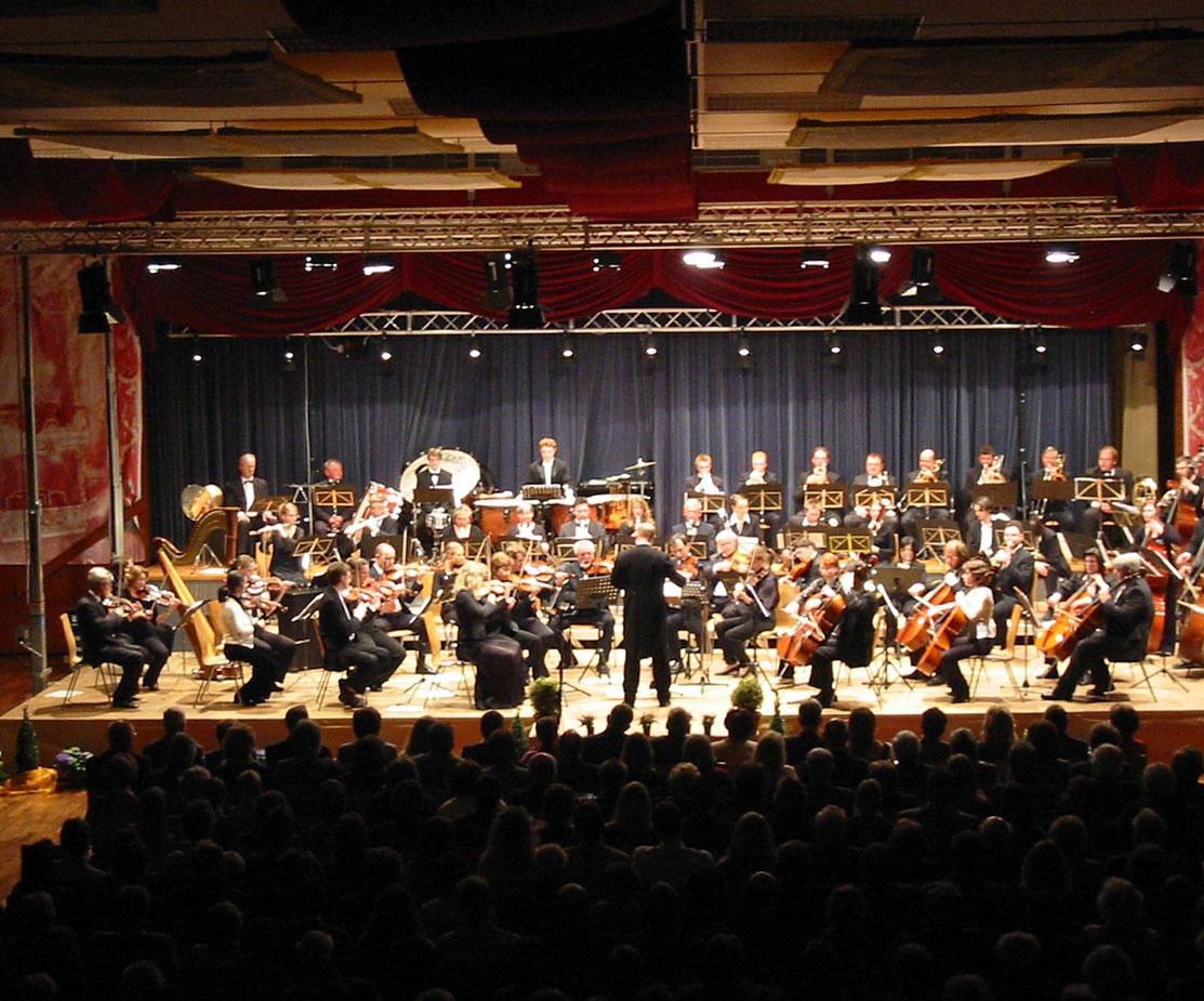 Bühne Licht Tontechnik Konzert Veranstaltung