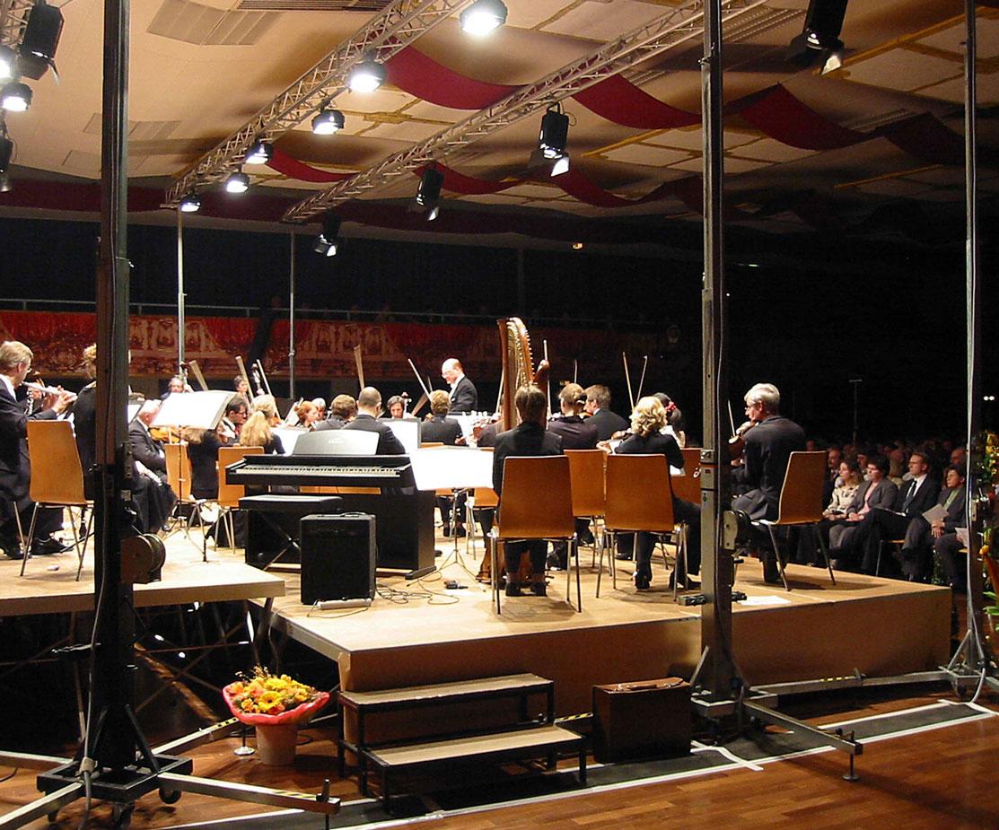 Klassik Konzert Live Veranstaltung Buehnentechnik