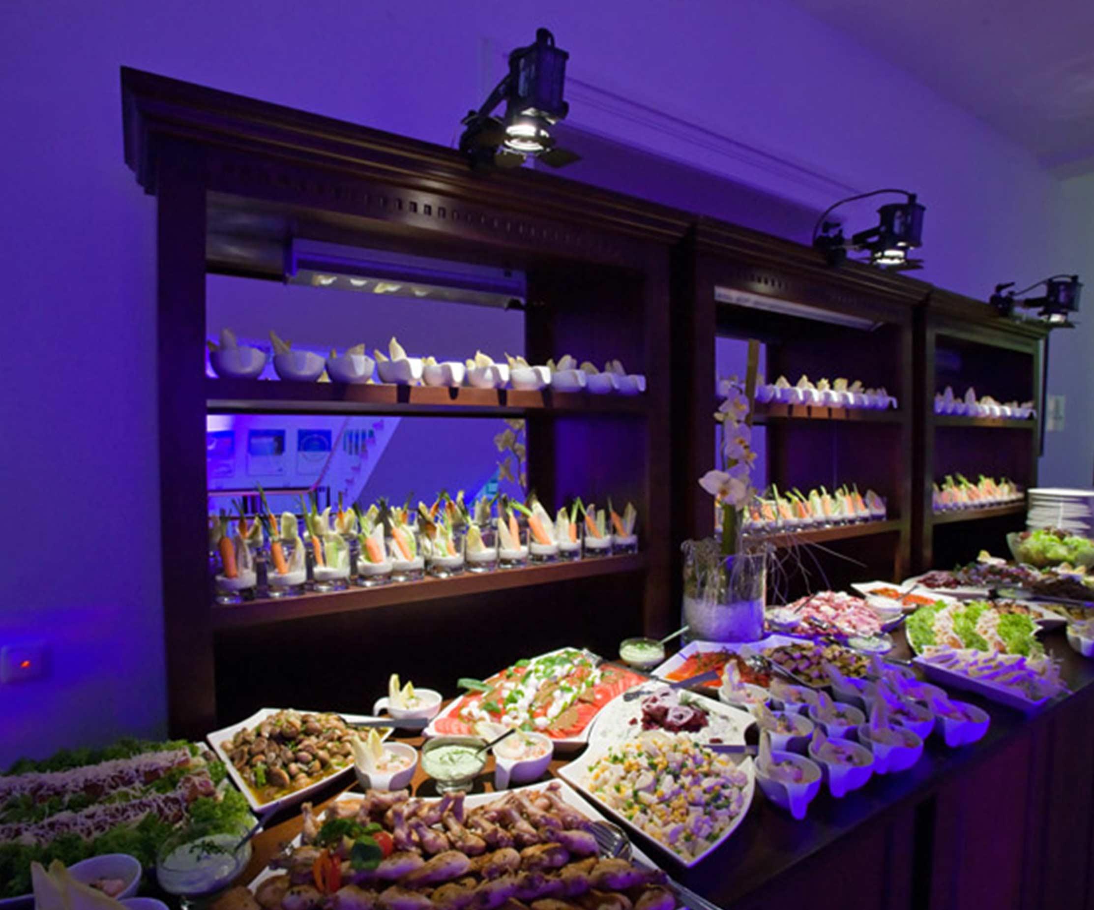 Firmenveranstaltung Full Service Event Agentur Buffet