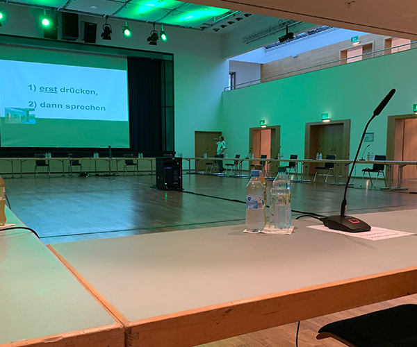 Konferenzen Streaming